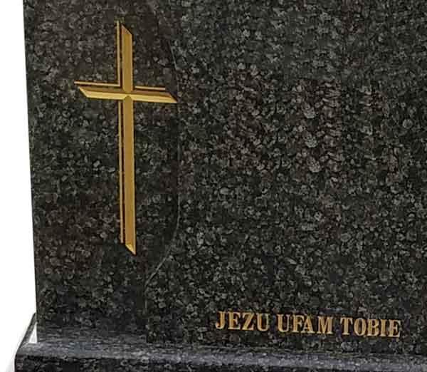 Odnawianie liter na nagrobku, renowacja liter - usługi kamieniarskie